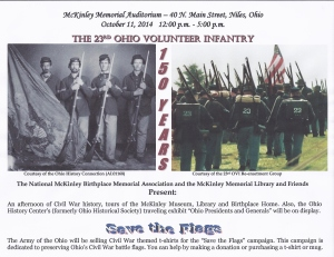Civil War Event Flyer