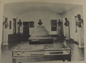 Relic Room from pictorial Hist of Niles book