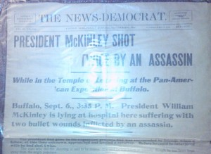 Assassination headline