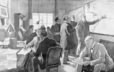 war room at Washington