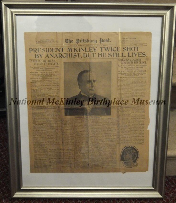 Sept 14 1901 newspaper